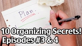 10 Organizing Secrets #3 & 4: The Trick For Fast Dinners And Staying Organized