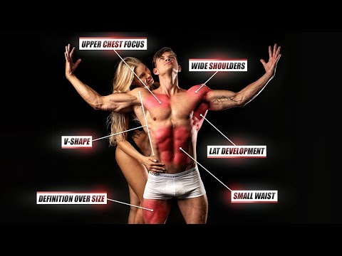8 Keys To Build An Aesthetic & Attractive Physique