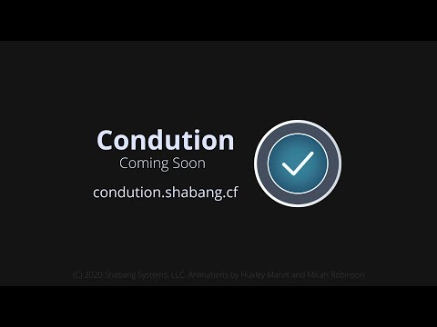 Condution - Announcement Trailer
