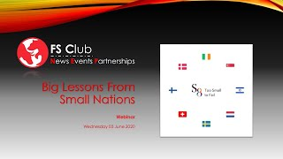 Big Lessons From Small Nations - Why Small Nations Outperform Larger Ones
