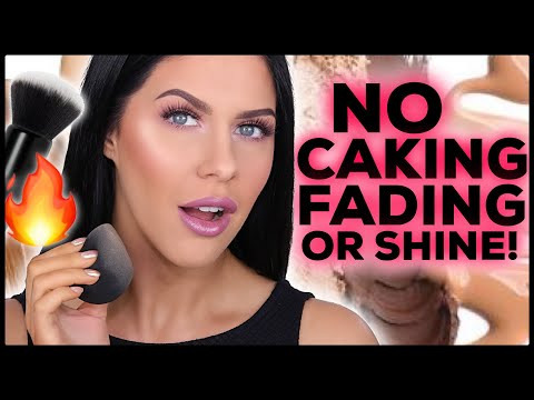 UPDATED FOUNDATION ROUTINE FOR OILY SKIN!! NON-CAKEY, SHINE PROOF & LONG LASTING!! thumbnail