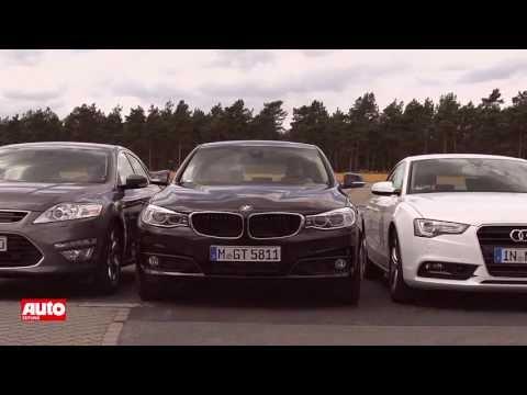 Vergleich: BMW 3er GT vs. Audi A5 Sportback vs. Ford Mondeo