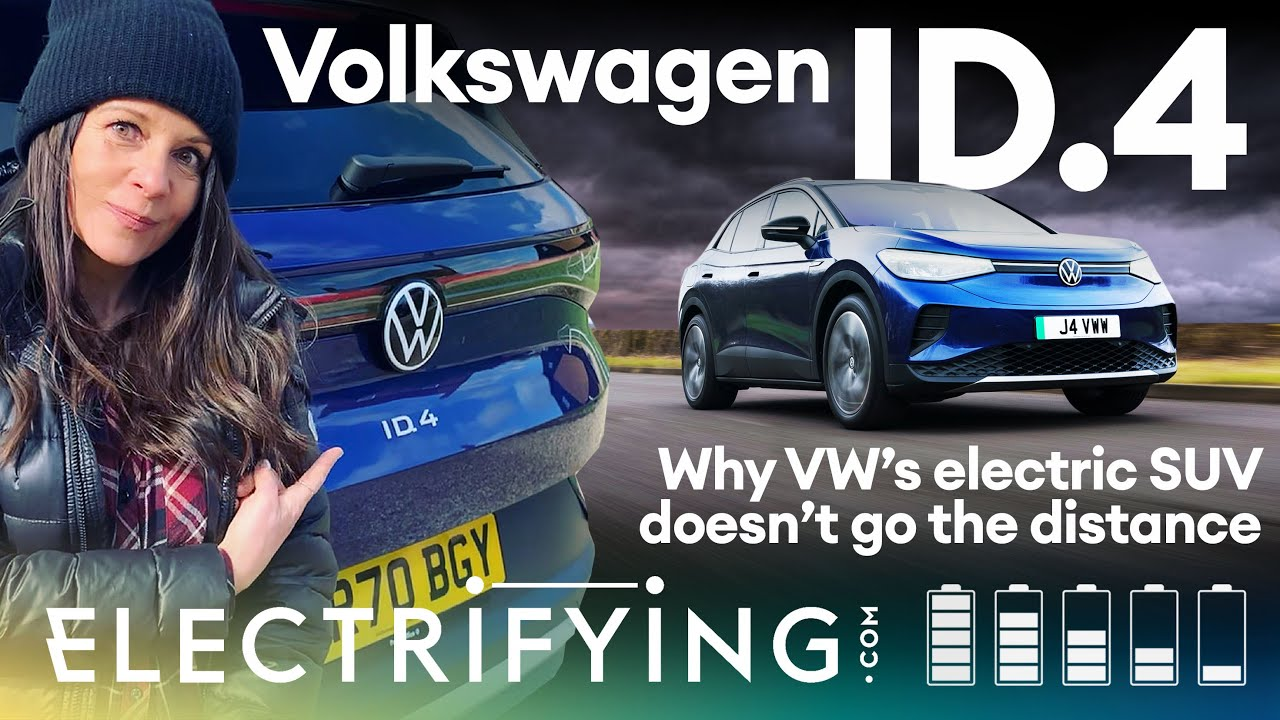 Volkswagen ID.4 SUV 2021 review – Why VW's electric SUV doesn't go the distance / Electrifying