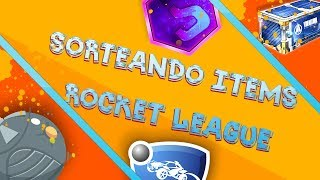 SORTEANDO ITEMS DE RL PS4 SOLO PS4!!! + RANKEDS Y PRIVADAS CON SUBS | ROCKET LEAGUE PS4