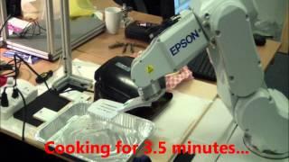 Robot Cooks a Burger