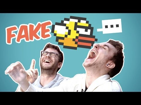 Cyprien Squeezie - FAKE FLAPPY BIRD !