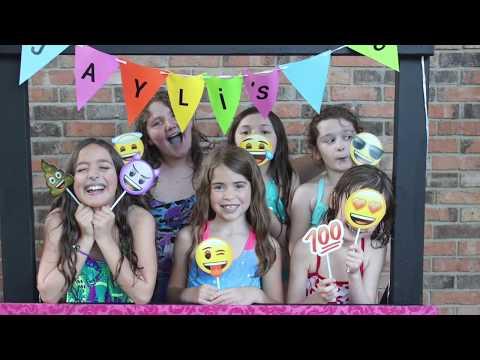 "Jaylis 8th ""Glamping"" Birthday Party"