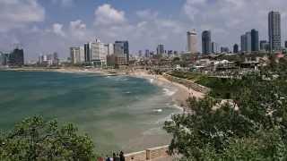 Набережная Тель Авива. Израиль(Тель-Авив – город молодой, как молодо и само государство Израиль. Поэтому в Тель-Авиве нет старинных досто..., 2014-08-20T14:18:59.000Z)