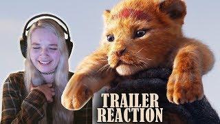 THE LION KING Official Teaser Trailer REACTION!