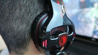AWESOME $30 Gaming Headset!! (Sades Sa-903 Review)
