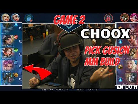 CHOOX TV VS DEXIE GAME 2 | CHOOX GUMAMIT GUSION MM BUILD SAKIT | COINS PH EVENT