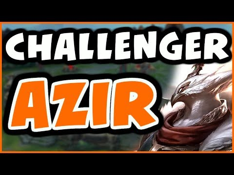 CHALLENGER SHOWS YOU HOW TO AZIR VS YASUO - League of Legends