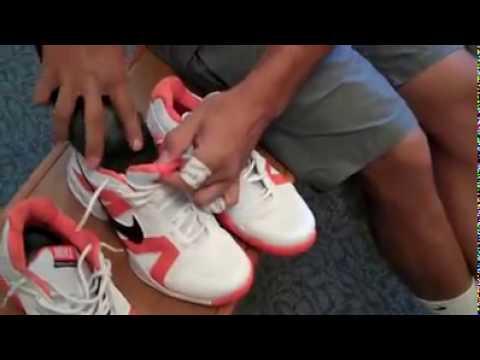 Rafael Nadal Preparing New Shoes To Play Youtube