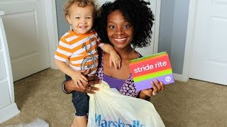 Mommy & Son Haul | Stride Rite, Zulily, Marshalls