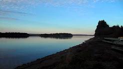 Evening Stroll D'Escousse Nova Scotia