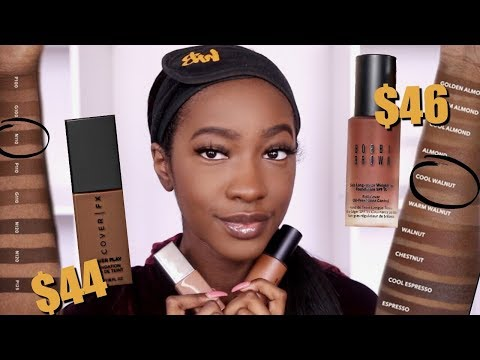 Battle Of The Mattes: Cover Fx Power Play vs. Bobbi Brown Skin Long-Wear (10+ Hr Wear Test)