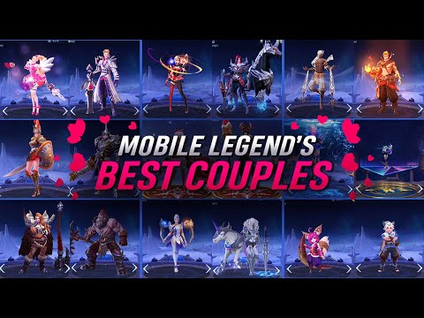 Best Love Couples in Mobile Legends | 2020 | All 16 Couples | -