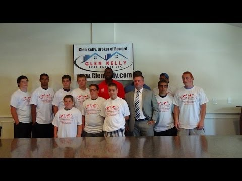 NFL & Hoobastank Press Conference with Darian Barnes & Tim Wright for Glen Kelly Real Estate