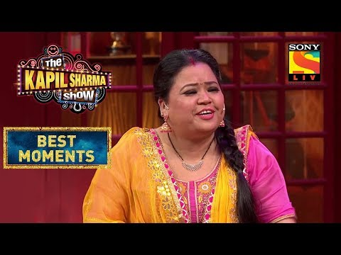 Bharti's Poetry Session | The Kapil Sharma Show Season 2 | Best Moments