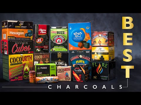 How To Make Charcoal | Cubes Natural Wood Coconuts Hookah Coals | Tips Review