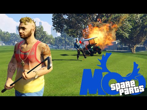 Multi-Game Spare Parts Montage! - GTA 5, Dead Realm, Garry's Mod (Funny Moments)