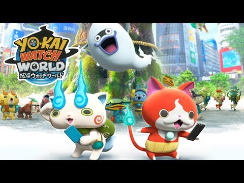 YO-KAI WATCH WORLD - First Look Gameplay On Android & IOS!