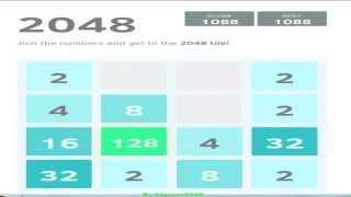 видео 2048 Игра - играть бесплатно онлайн