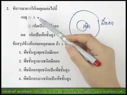 เฉลย คณิตศาสตร์ O-NET '53 ข้อ 2/40 [ติวฟรี.คอม]