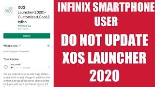 Infinix Smartphone User Don't Update XOS Launcher 2020 screenshot 3