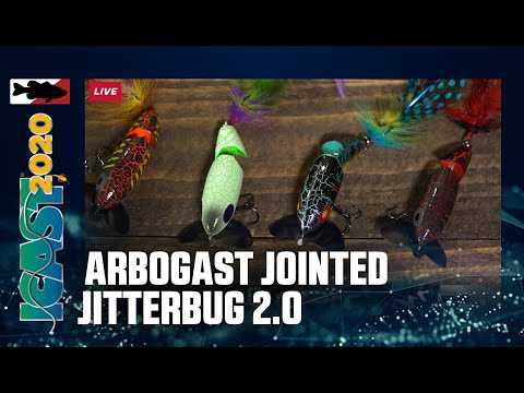 Arbogast Jointed Jitterbug 2.0 With Luke Palmer | ICAST 2020
