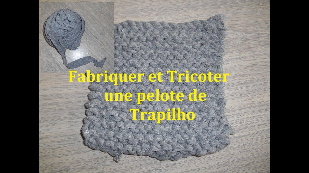 fabriquer et tricoter du trapilho