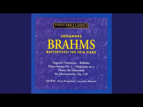 Variations on a Theme By Schumann, Op. 9, Variation 14
