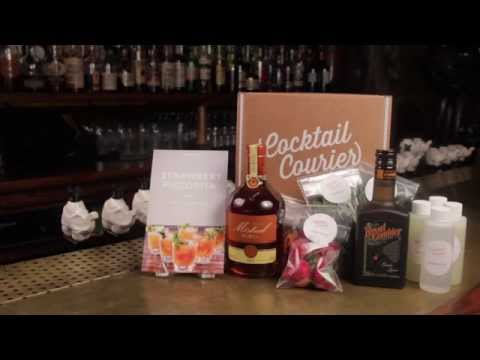 Cocktail Courier presents Inside the Glass Strawberry Piscorita HD