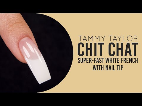 ❤ Nail Class | Super-Fast White French With Nail Tip | Tammy Taylor thumbnail