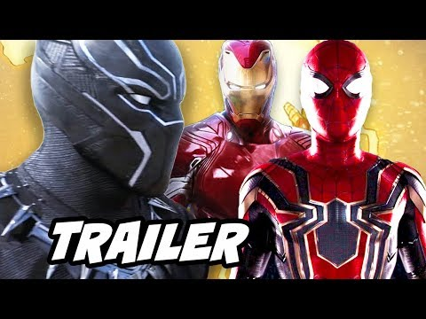 Download Youtube: Black Panther Trailer and Avengers Infinity War Breakdown