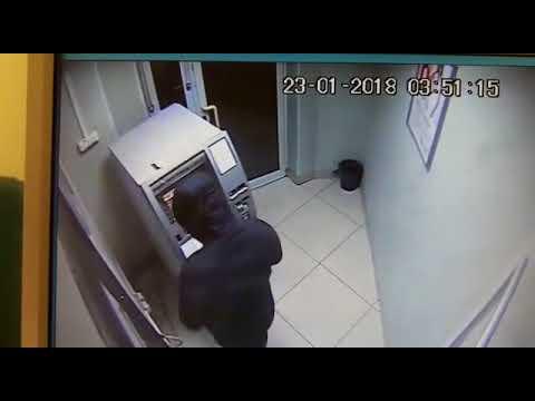 Новосибирск. Кража из банкомата.