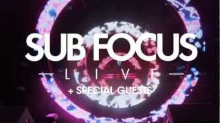 Sub Focus Live at Brixton Electric - Tickets are now SOLD OUT