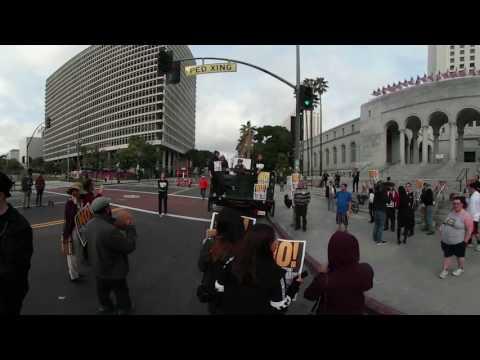 RefuseFascismLA Rally & March 1/15 #2