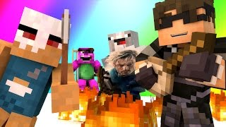Minecraft Mini-Game : DO NOT LAUGH (NARWHAL FIGHTS AND MILK JOKES?!) w/ Facecam