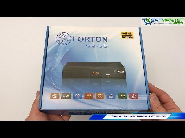 Видео обзор LORTON S2-55 Full HD
