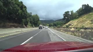 Калифорния: из Санта Круз в Сан Хосе через горный перевал - Фривей №17
