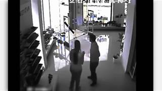 Tornado inside CCTV footage - OMG CCTV tarnado inside