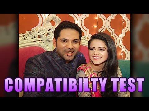 Ankit and Jigyasa aka Dhruv and Thapki of Thapki Pyaar ki's COMPATIBILITY TEST