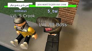 LVL 5 CROOK [MAFIA CITY AD ROBLOX]