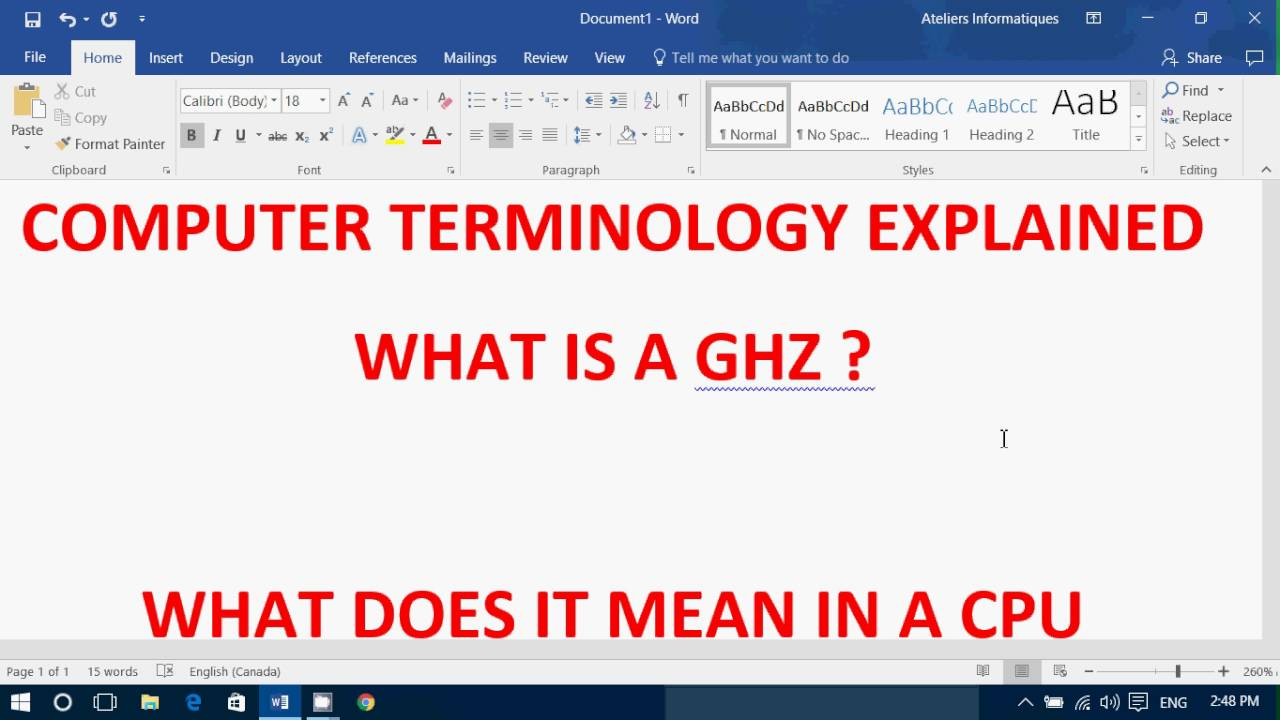 What is a Ghz and what does it mean in the computer and ...