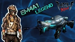 EM4A1 legend / AlecxithoM10 /  wolfteam latino 2016
