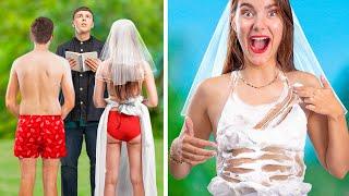 عروسة غنية ضد عروسة فقيرة / 10  لحظات مضحكة و محرجة