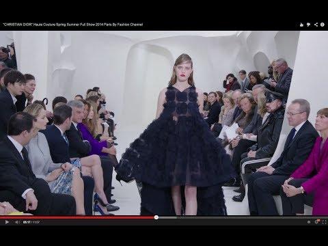 Paris Couture: Christian Dior