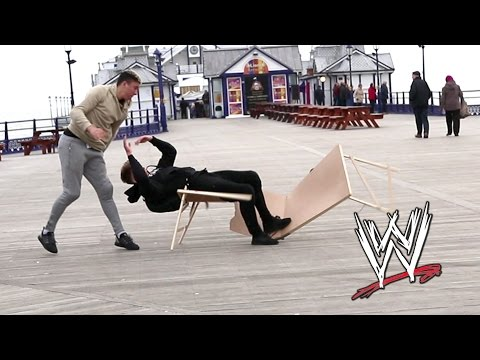 Thumbnail: WWE MOVES IN PUBLIC | Tables Edition 😂