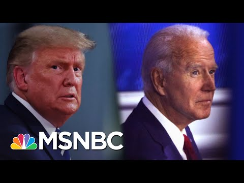 Combative Trump And Measured Biden At Dueling Town Halls | The 11th Hour | MSNBC